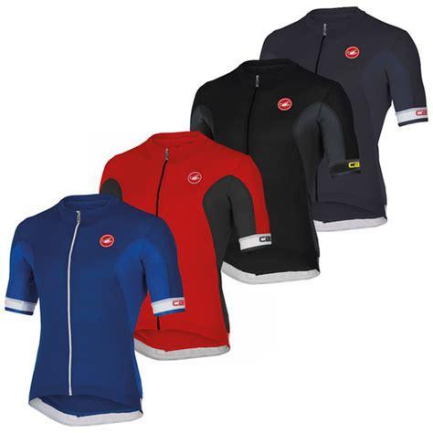 Castelli Jersey Volata Fz Redblackwhite castelli volata sleeve jersey sigma sport