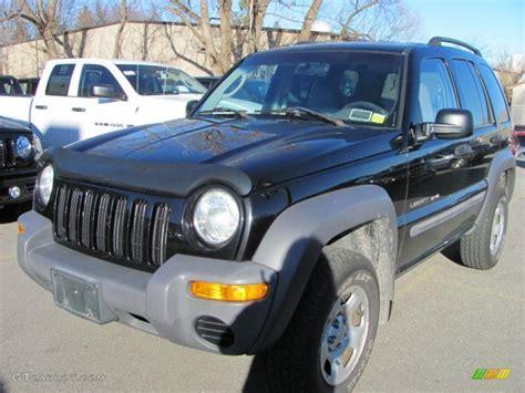 black jeep liberty 2002 2002 black jeep liberty sport 4x4 40479775 gtcarlot com