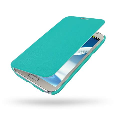samsung galaxy note 2 casual folio cover case aqua