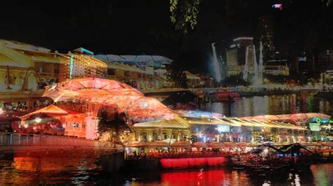 boat quay ride singapore clarke and boat quay youtube