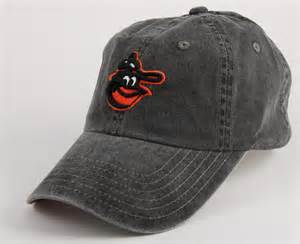 baltimore orioles new raglan black baseball hat