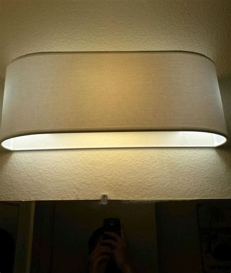 Bathroom Light Fixture Covers 20 Best Images About Hiding Vanity Bulbs On Shade Covers Fluorescent Light Covers