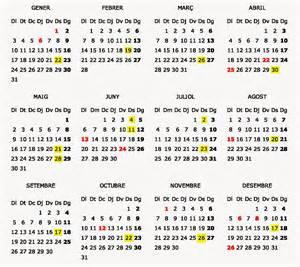 Palau Calendario 2018 Juny 2015 In Fernem Land