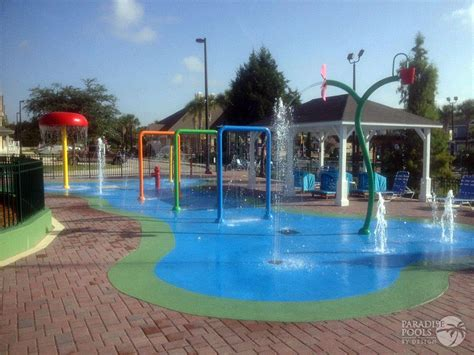 pools by design splash pads gallery paradise pools by design