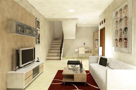 desain ruang keluarga kecil minimalis modern renovasi