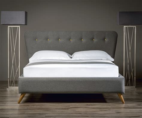 bed and retro upholstered bed upholstered beds from sueno