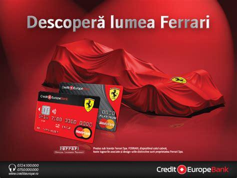 credit europe bank romania sa p credit europe bank lanseaza card