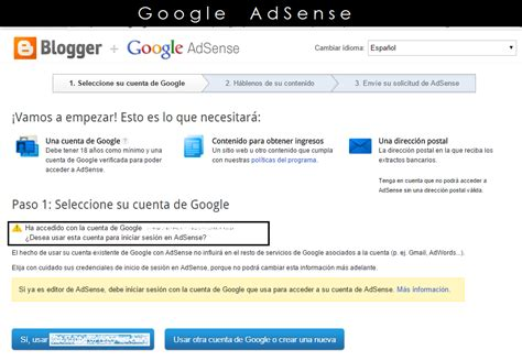tutorial de google adsense tutorial activar adsense en el blog mi diamante azul