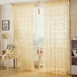 Beige muslin sheer curtain for living room and bedroom sheer curtain