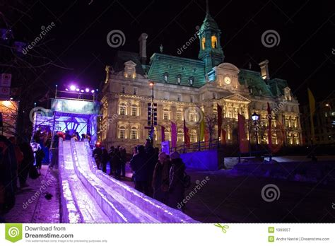 montreal festival of lights montreal high lights festival royalty free stock
