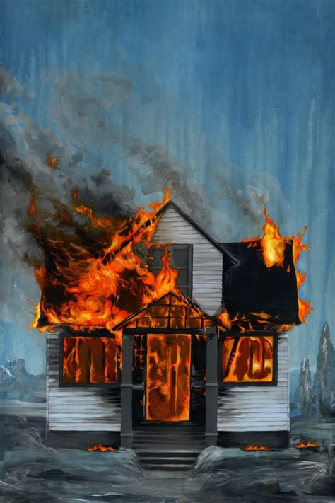the house was on fire house on fire drawdeck