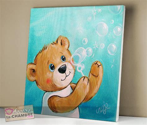 tableaux chambre enfant tableau ourson dco nounours pour chambre enfant vente