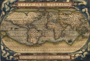 First World Map by Ortelius Publishes First World Atlas Oupblog