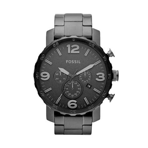 Jam Tangan Fossil Quartz jual fossil nate jr1401 chronograph jam tangan pria