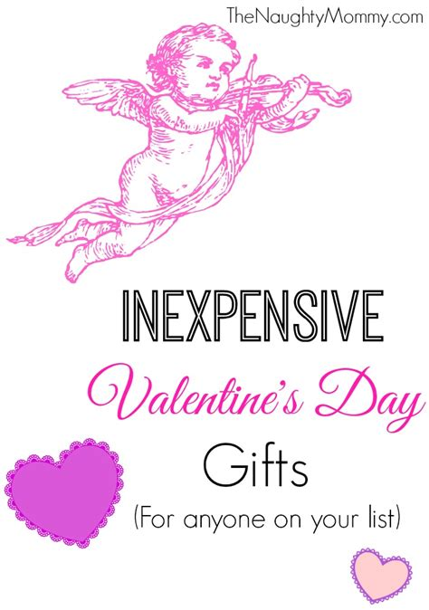 cheap valentines day gift inexpensive s day gifts the