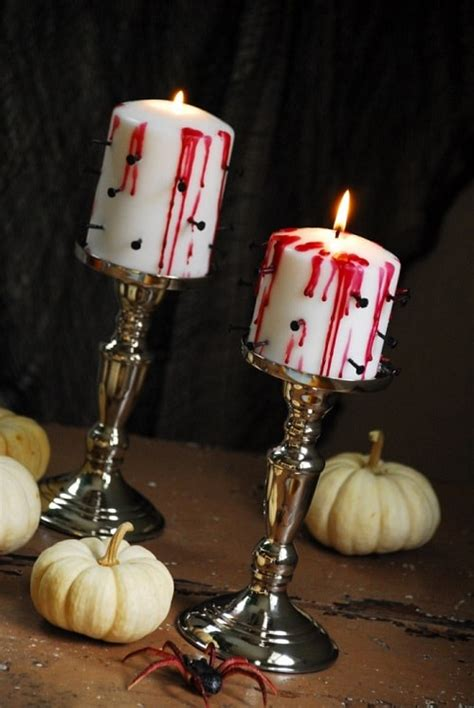 Diy Bloody Candles by Easy And Cheap Diy Project Diy Bloody Candle