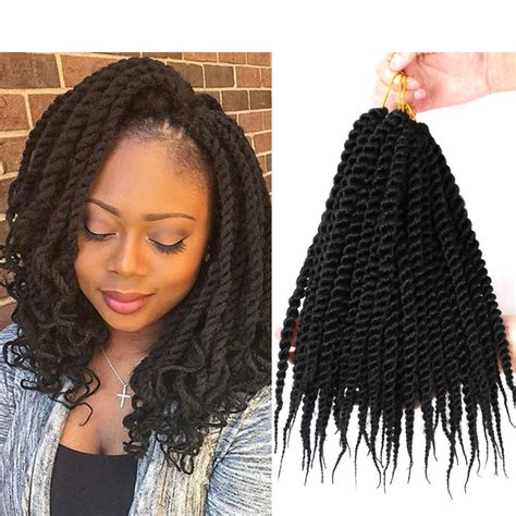 what type of hair for seneaglese crochet 12 havana mambo crochet senegalese twist synthetic braid