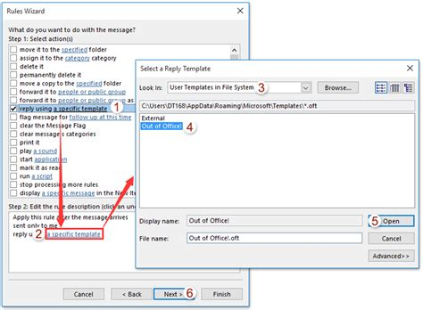 how to setup a template in outlook 2010 how to set out of office automatic reply in outlook