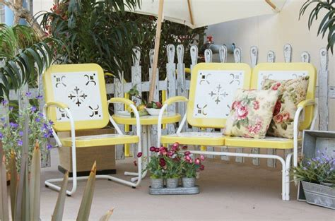 kaleidoscope furniture town country event rentals summerland vintage patio furniture buttercup town