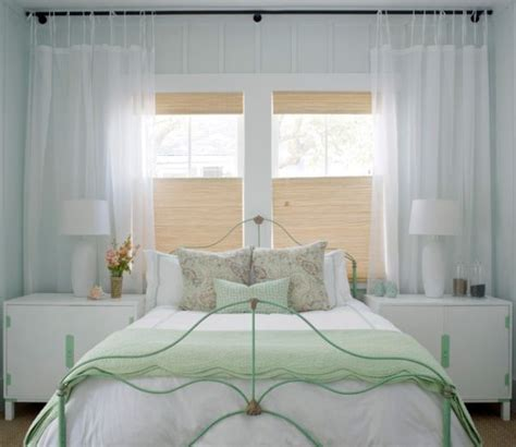 Bedroom With Bamboo Blinds Organic Indoors Woven Wood Shades And Bamboo Blinds For