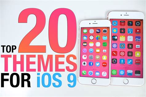 themes iphone ios 9 top 20 ios 9 themes best 9 0 2 themes from cydia youtube