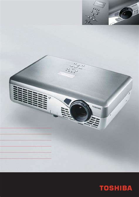 Proyektor Toshiba toshiba projector tlp s30 user guide manualsonline