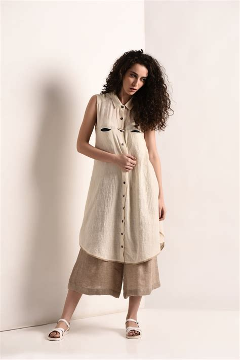 A Line Khadi Dress The Pot Plant