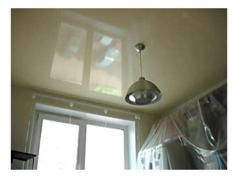 Сочетание натяжных потолков и стен фото