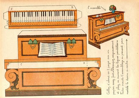 Papercraft Piano - mon piano 2 m flickr