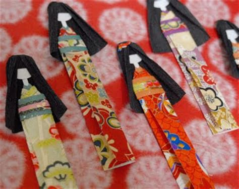 How To Make Japanese Paper Dolls - kimono reincarnate how to make japanese paper dolls