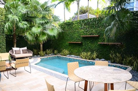 Small Backyard With Pool Landscaping Ideas Small Tiny Pool Http Lomets
