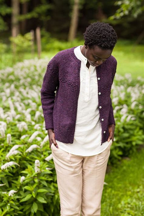 cardigan pattern worsted weight trillium by michelle wang brooklyn tweed cardigan with
