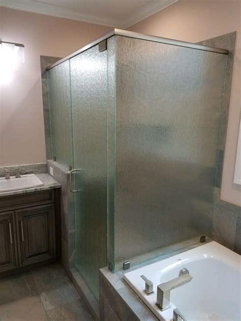 custom shower doors  installed century glass