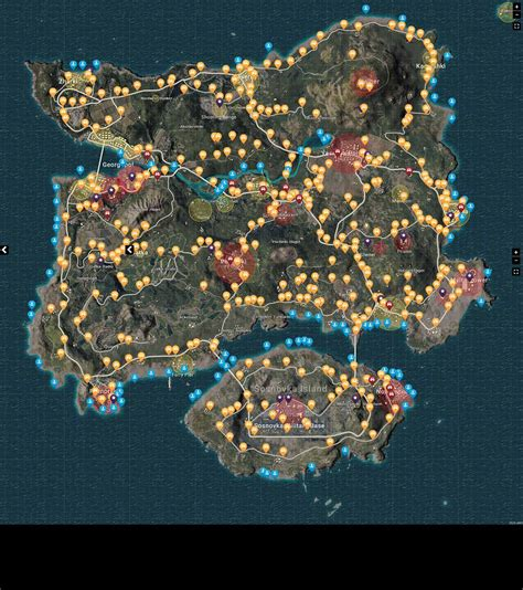 pubg loot map pubg best loot loot map f 252 r playerunknown s battlegrounds