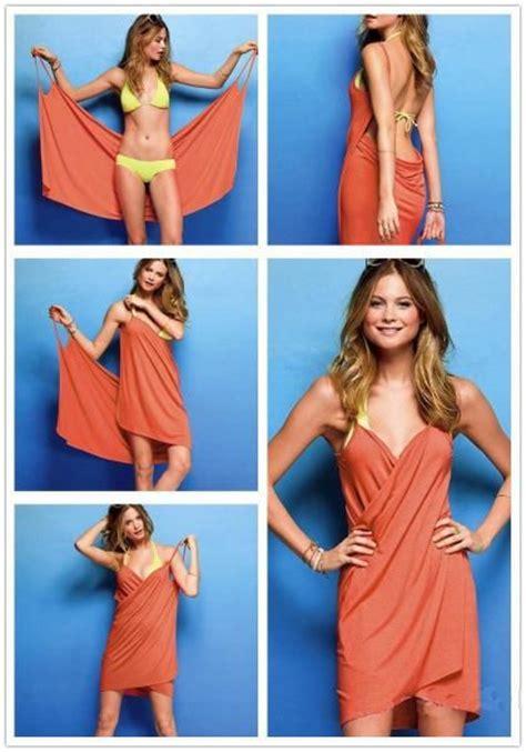 como hacer vestidos con pareos tutorial ideas para ponerte un pareo blog emociom almer 237 a