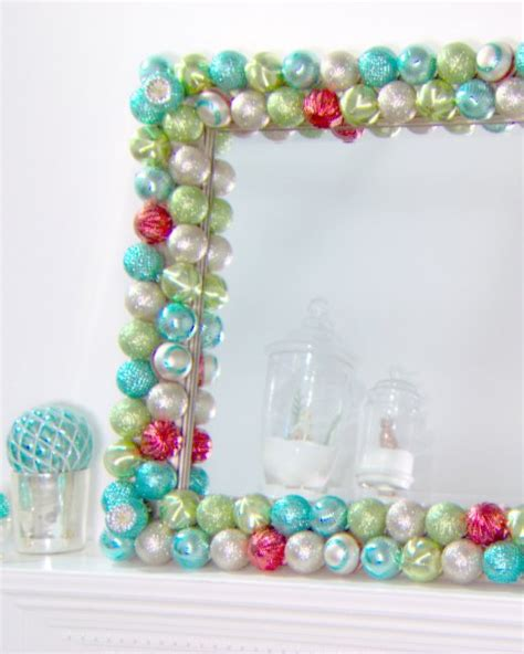 diy ornaments martha stewart ornament mirror step by step diy craft how to s and