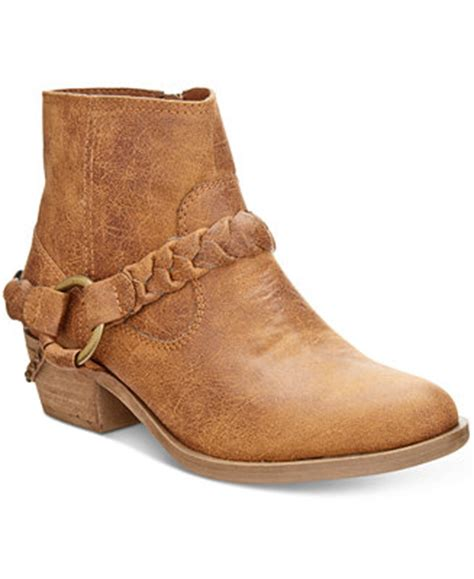 macys ankle boots xoxo glorius western ankle booties boots shoes macy s
