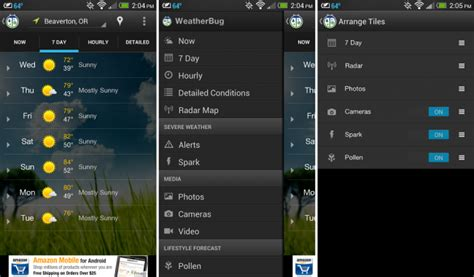 weatherbug android weatherbug receives major ui update fancy live tiles and background themes droid