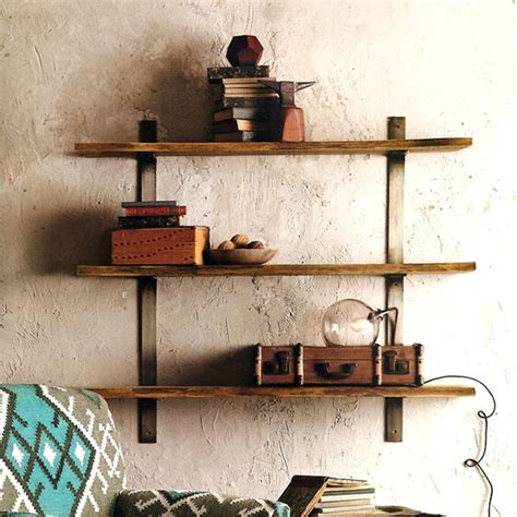live edge shelves eclectic display and wall shelves