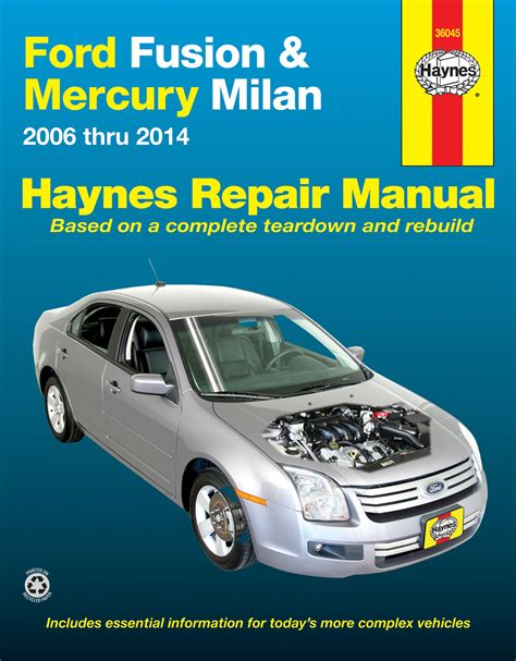 manual repair free 2011 mercury milan auto manual ford fusion mercury milan 06 14 haynes repair manual haynes manuals