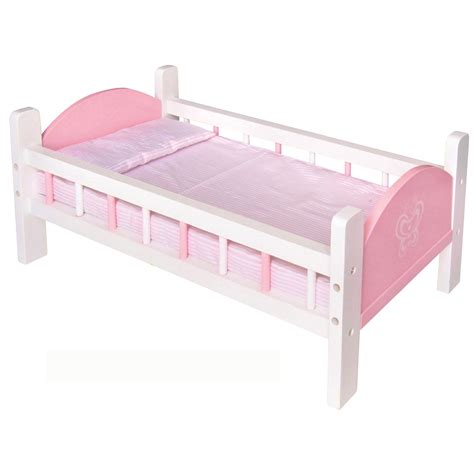 wooden doll bed wooden doll pink bed by viga toys romantic flair original