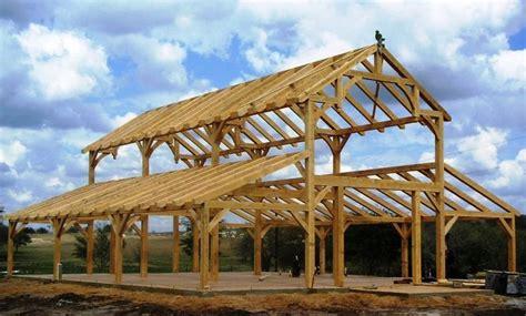 heavy timber construction kits timber framed party barn