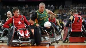 rolstoel rugby meer over rolstoelrugby paralympische spelen 2016 nos