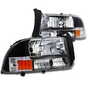 1997 Dodge Dakota Headlights Dodge Dakota 1997 2004 Black Headlights A101wiei102