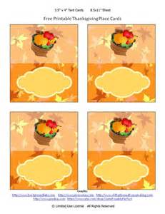 Thanksgiving Place Card Templates by 6 Best Images Of Free Printable Thanksgiving Placecards