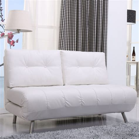 White Leather Sleeper Sofa White Leather Sleeper Sofa Sleeper Sofas Modern Sofa Beds Comfort Sleeper With White
