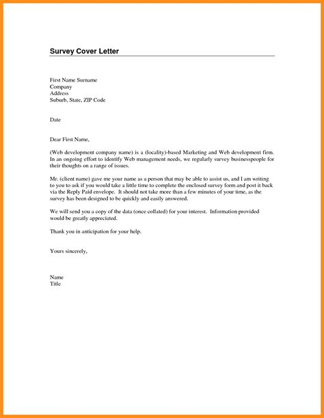 sle survey cover letter survey cover letter botbuzz co