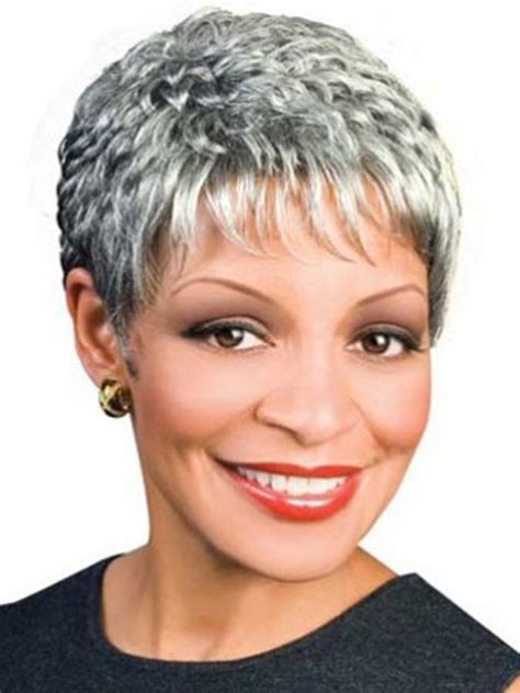 gray hair pieces for american short wigs for african american women over 50 short
