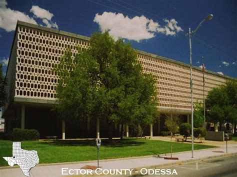Ector County Warrant Search Ector County Courthouse
