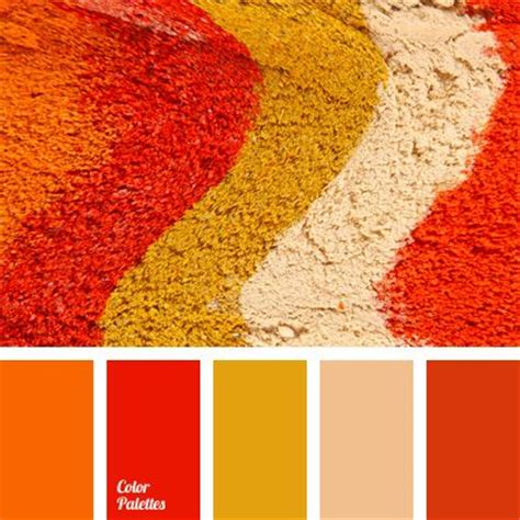 great falls orange color palettes and kitchen living on